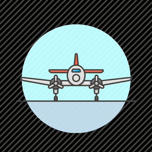 aircraft, airplane, army, flight, military, plane, transport icon