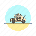army, car, humvee, jeep, military, transport, vehicle icon