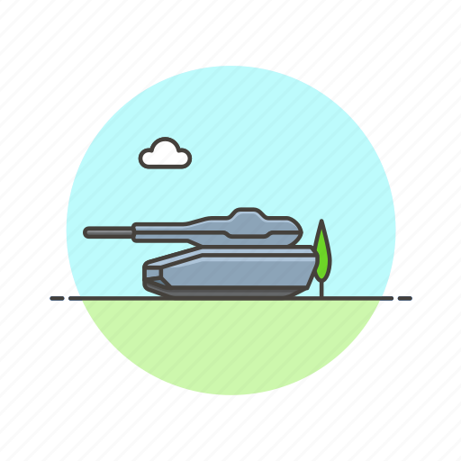 army, field, military, tank, transport, vehicle, war, weapon icon