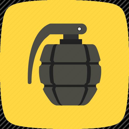 army, bomb, explosion, explosive, grenade icon
