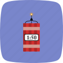 bomb, dynamite, explode, explosion icon