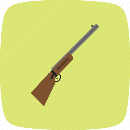 gun, hunting, rifle, shotgun, weapon icon