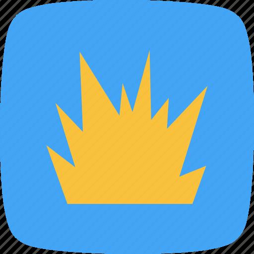 blast, bomb, explode, explosion icon