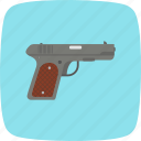 gun, hunting, pistol, weapon icon