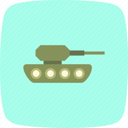 army, military, tank, war, weapon icon