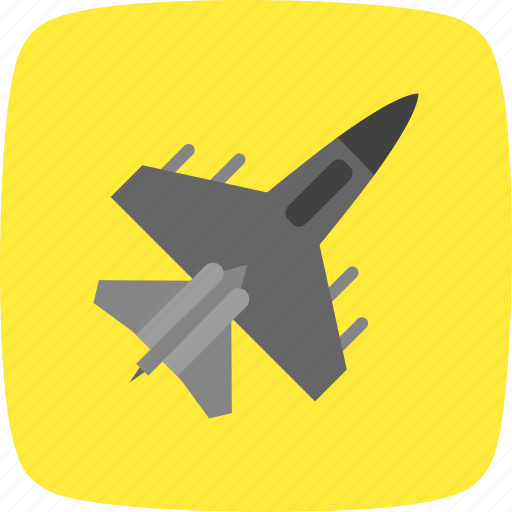 aeroplane, aircraft, airplane, fighter jet, jet icon