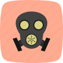 gas, gas mask, mask icon