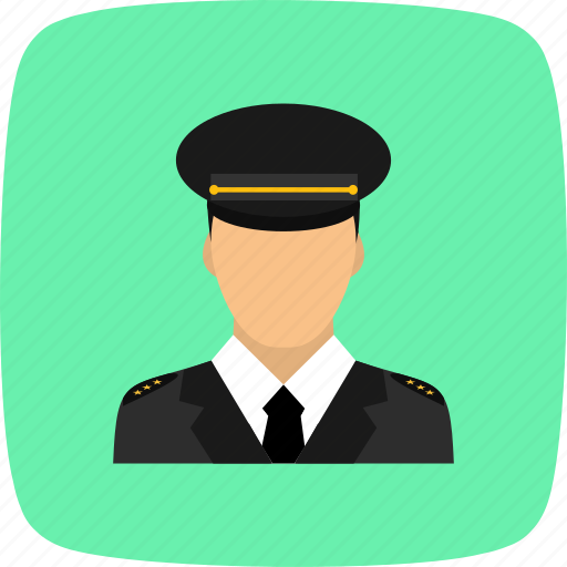 lieutenant, military, officer, pilot, soldier icon
