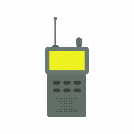 communication, mobile, transceiver, walkie talkie icon