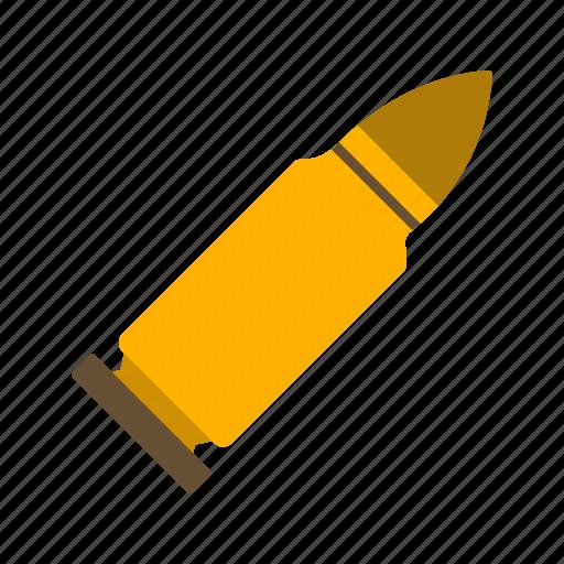 bullet, target, war icon