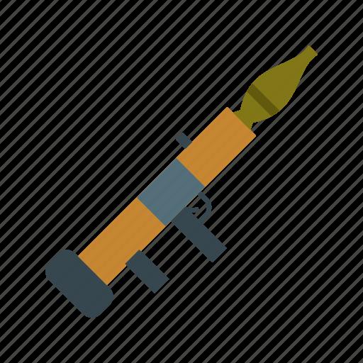 explosion, missile, rocket, rocket launcher, rpg icon