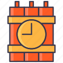 army, atom, bomb, explosion, explosive, military, timer icon