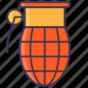 ammo, bomb, explosive, grenade, soldier icon