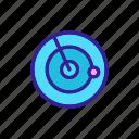 army, concept, contour icon