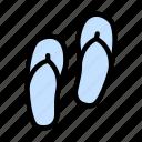 flipflop, footwear, massage, sandal, sleeper icon