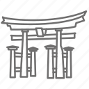 famous, gate, japan, place, sightseeing, tourism, world icon