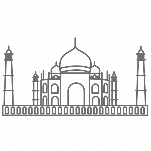 famous, india, place, sightseeing, taj mahal, tourism, world icon