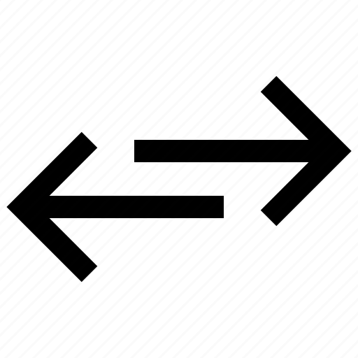 arrow, arrows, direction, exchange icon