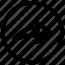 arrow, arrows, redo, right icon
