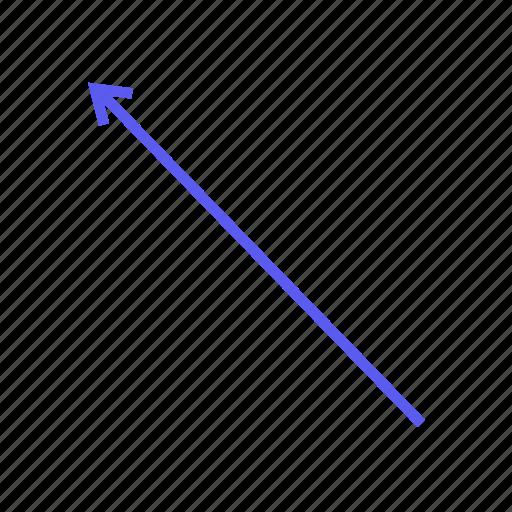 Arrows, arrow, direction, left, navigation, left arrow, up icon - Download on Iconfinder