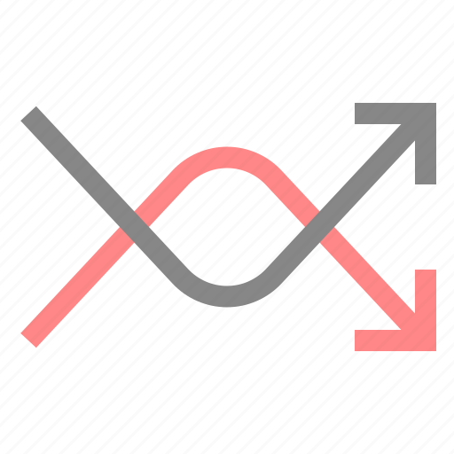 arrow, change, direction, move, navigation, pointer, shuffle icon