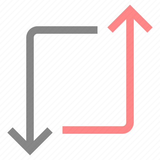 Arrow, change, direction, move, navigation, pointer icon - Download on Iconfinder