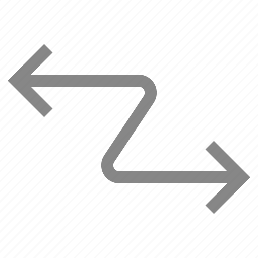 Navigation, direction, move, pointer, arrow icon