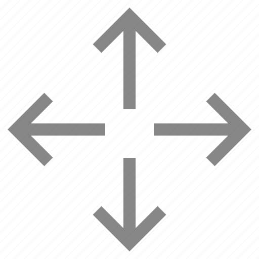 Arrow, direction, down, fullcreen, navigation, pointer icon - Download on Iconfinder