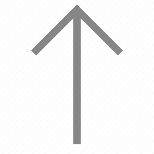 Arrow, direction, move, navigation, pointer, up icon - Download on Iconfinder