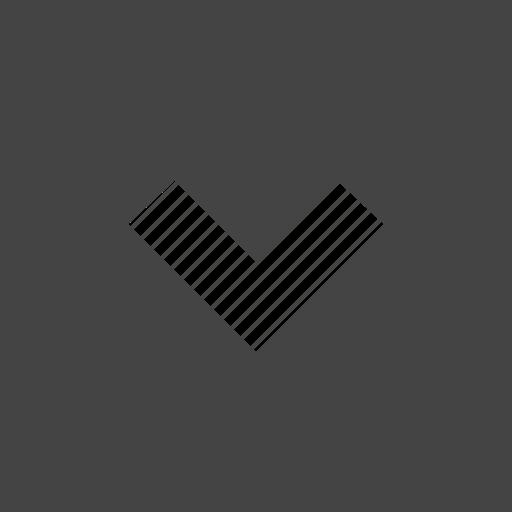 arrow, down, flow, path, square icon