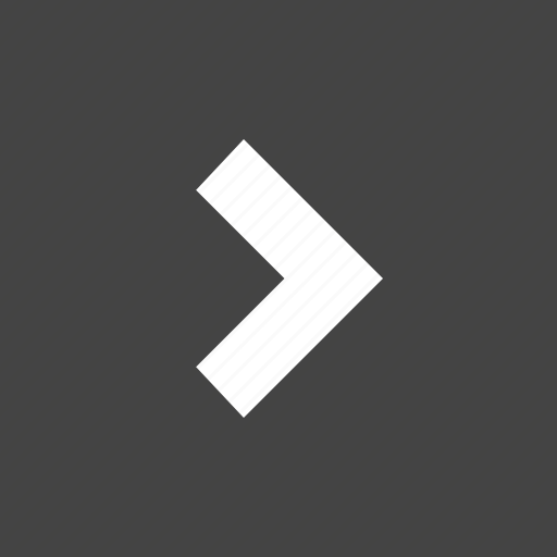 arrow, flow, path, right, square icon