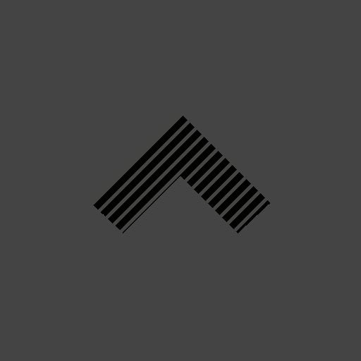 arrow, flow, path, square, up icon