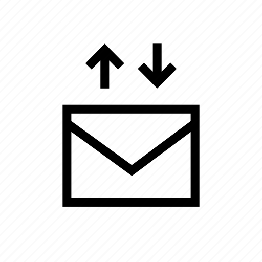 emails, envelope, exchange, exchange by mail, mail, replace icon