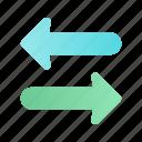 arrow, direction, navigation, sharing, sign, transfer, web