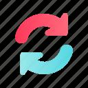 arrow, direction, navigation, refresh, reload, sign, web