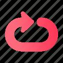 arrow, back, direction, navigation, sign, ui, web