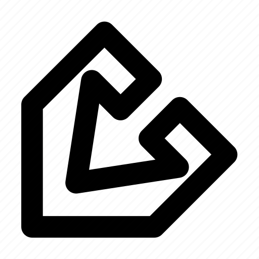 arrow, line, ui / ux, web icon