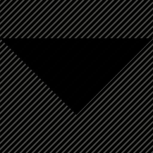 arrow, caret, direction, down, navigation icon