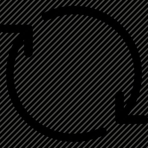 arrow, refresh, reload, repeat icon