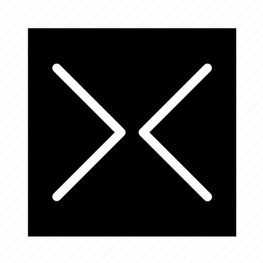 arrow, in, left, right, square, ui icon