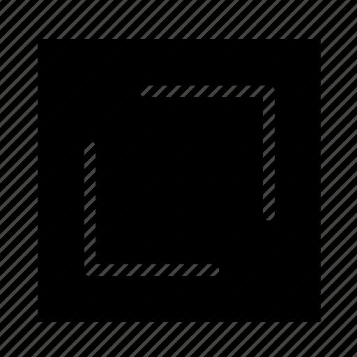 arrow, resize, right, square, ui icon