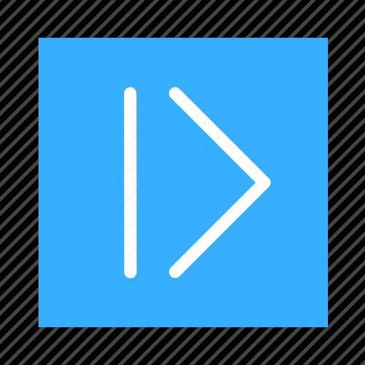 arrow, backward, colored, square, ui icon