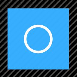 arrow, colored, record, square, ui icon