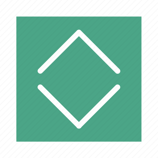 arrow, colored, down, square, ui, up icon