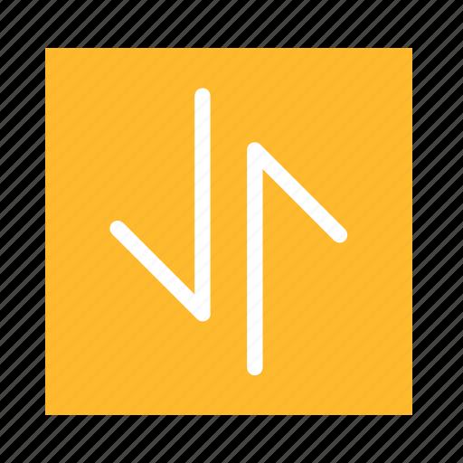 arrow, colored, down, square, stroke, ui, up icon