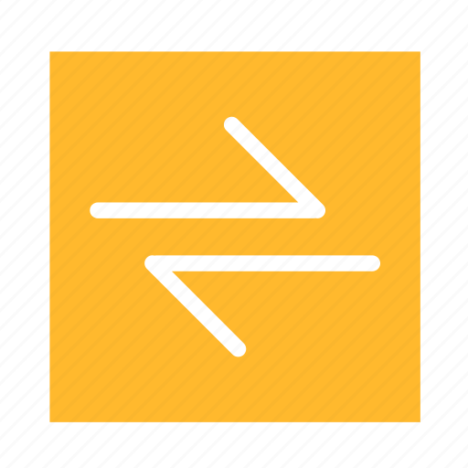 arrow, colored, left, right, square, stroke, ui icon