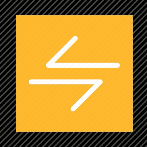 arrow, colored, left, right, square, stroke, ui icon