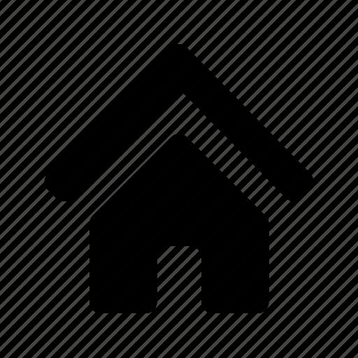 arrow, dashboard, home, homepage, house, navigate, up icon