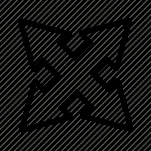 Arrow, arrows, line icon - Download on Iconfinder