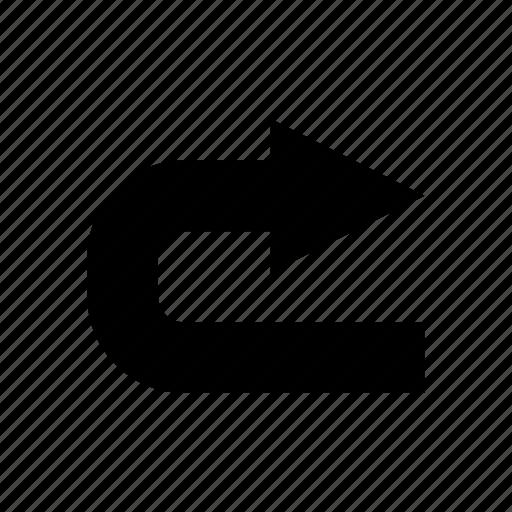 arrow, arrows, direction, forward, move, next, right icon
